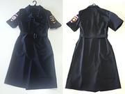 Платье Для Мвд Полиции С Коротким Рукавом Женская Ткань Габардин Форма