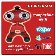 3D WEBкамера (anaglyph or 120Hz)